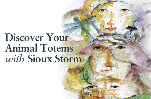 Sioux Storm brings her Totem Portraits to the New Life Expo in New York City March 21st to 23rd, 2014